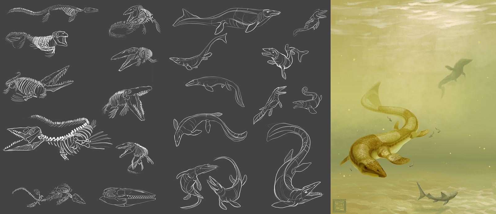 4: Tylosaurus