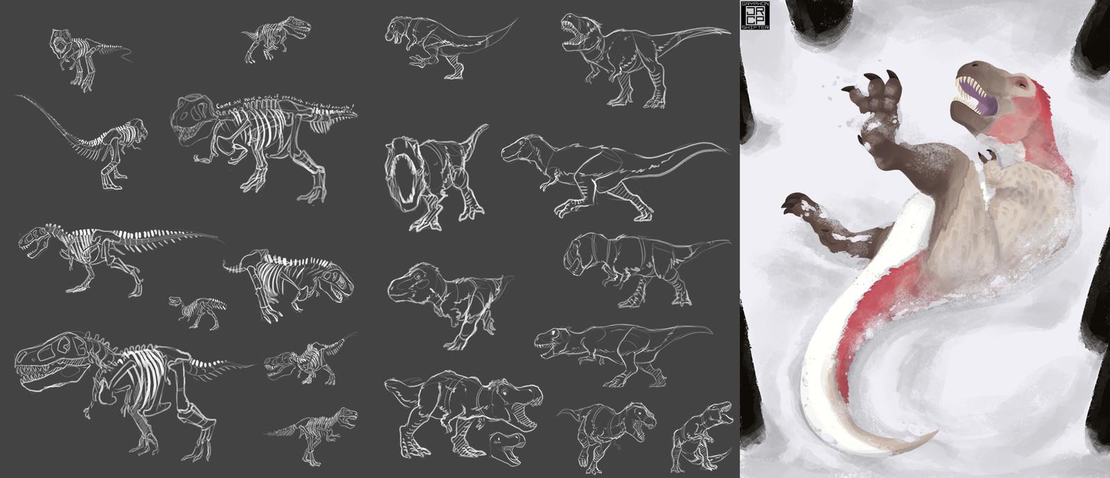 9: Tyrannosaurus
