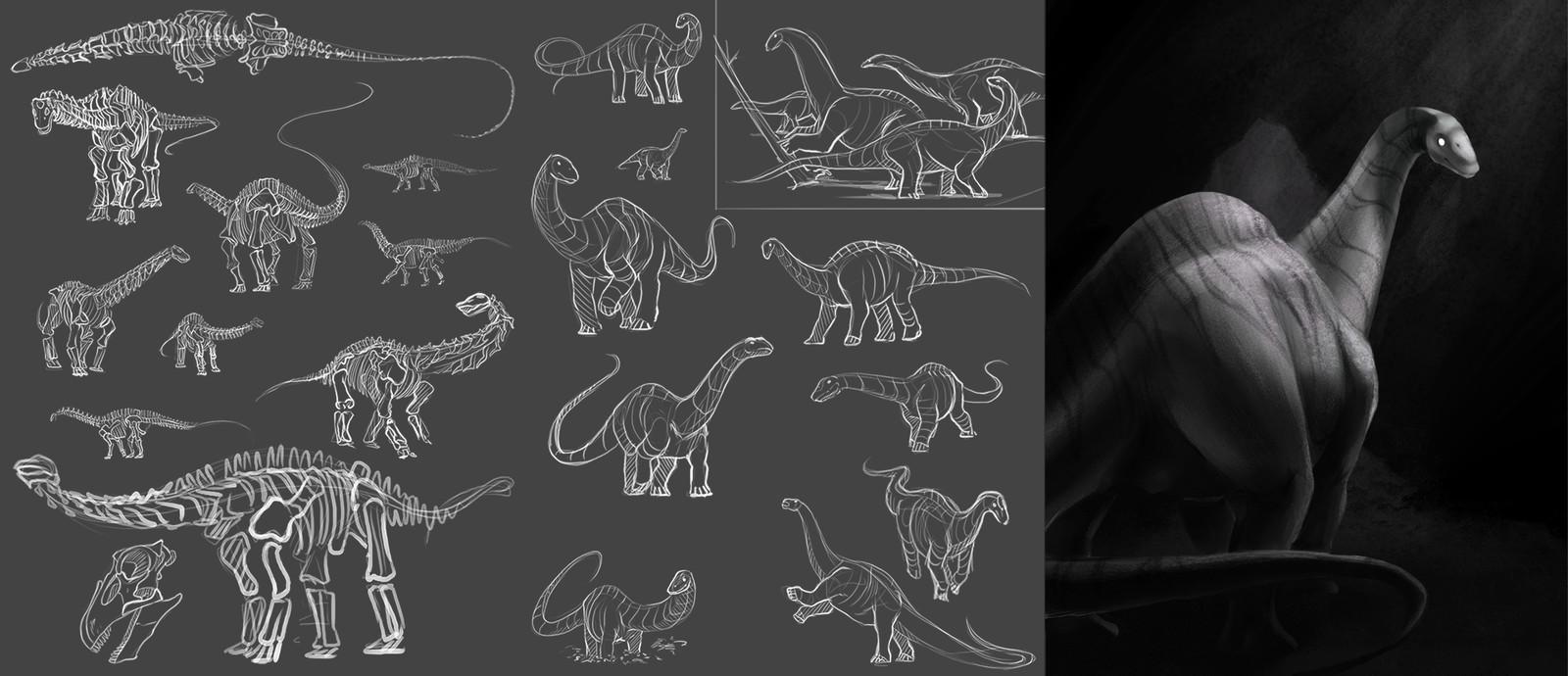 1: Apatosaurus