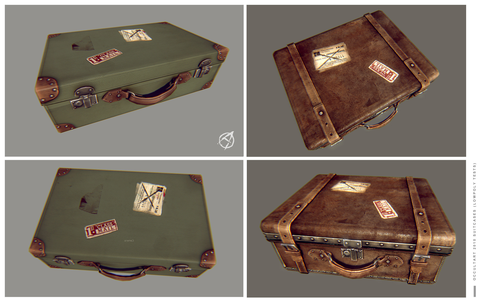 Occultart   suitcases test