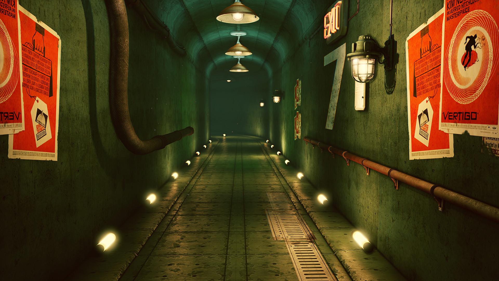 Occultart   hallway 01