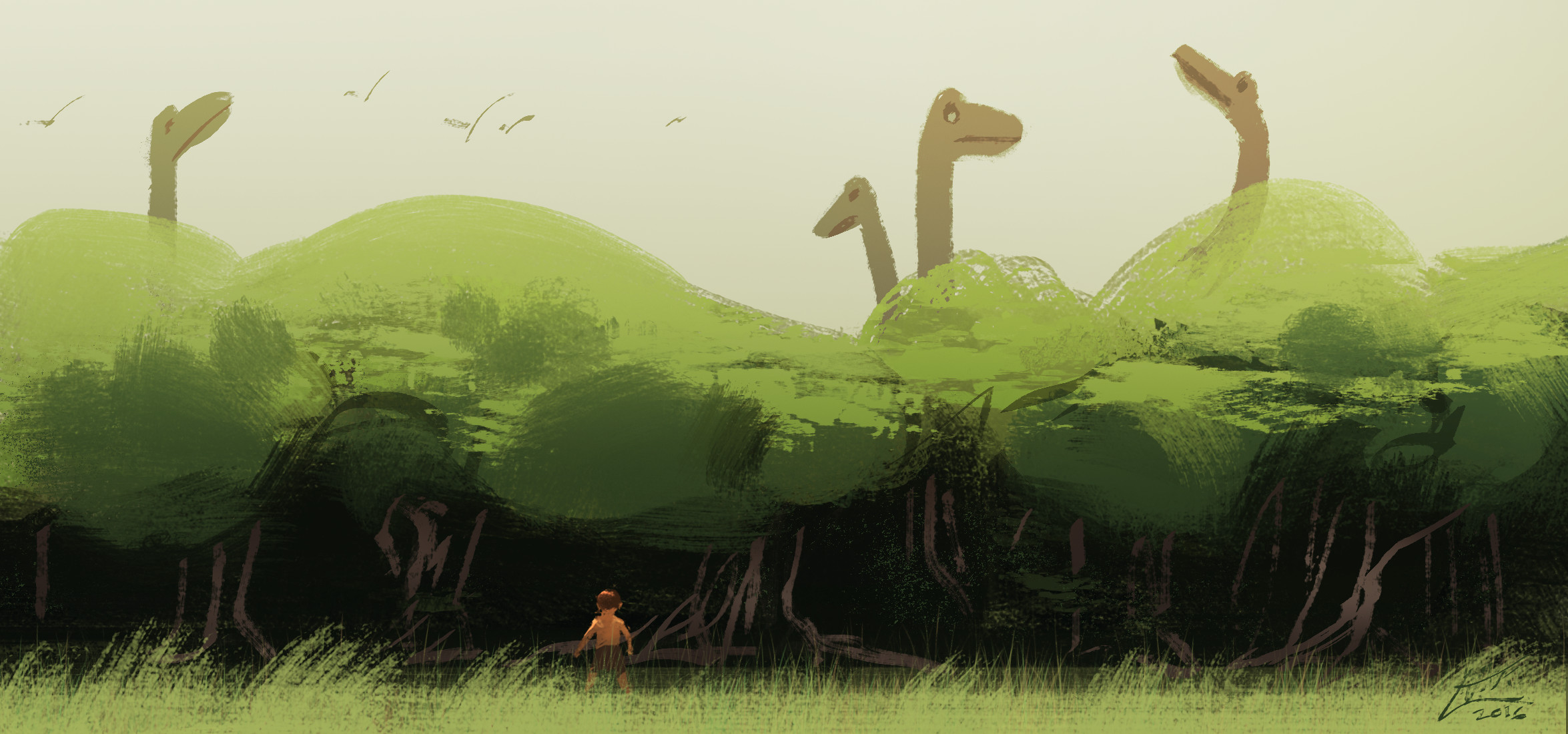 prehistoric jungle