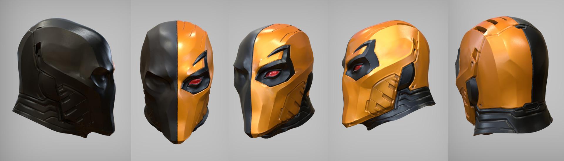 David giraud deathstroke mask