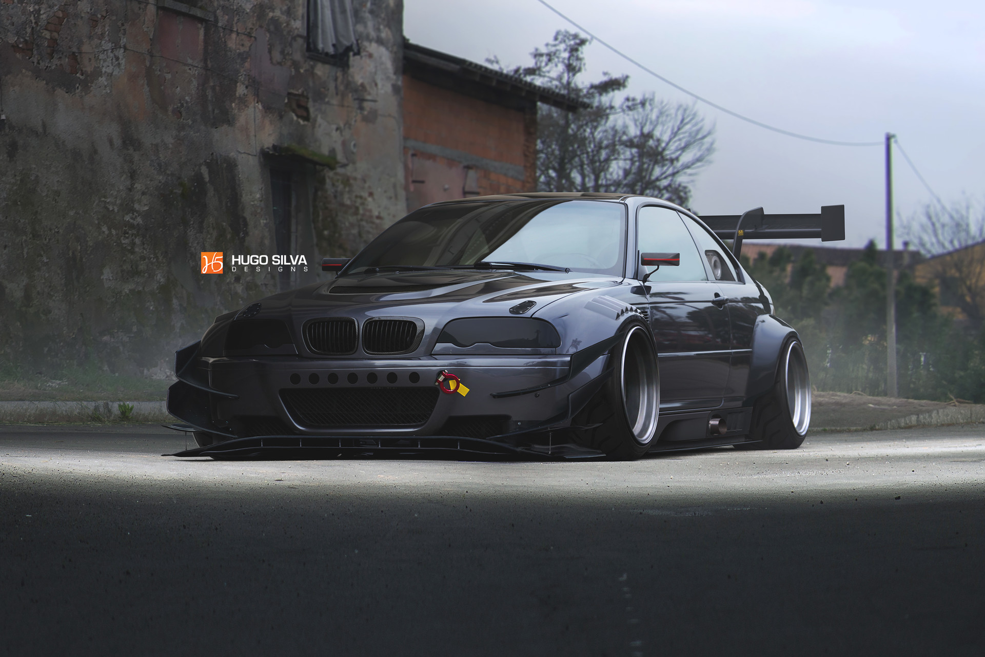Artstation Widebody Bmw E46 M3 Hugo Silva