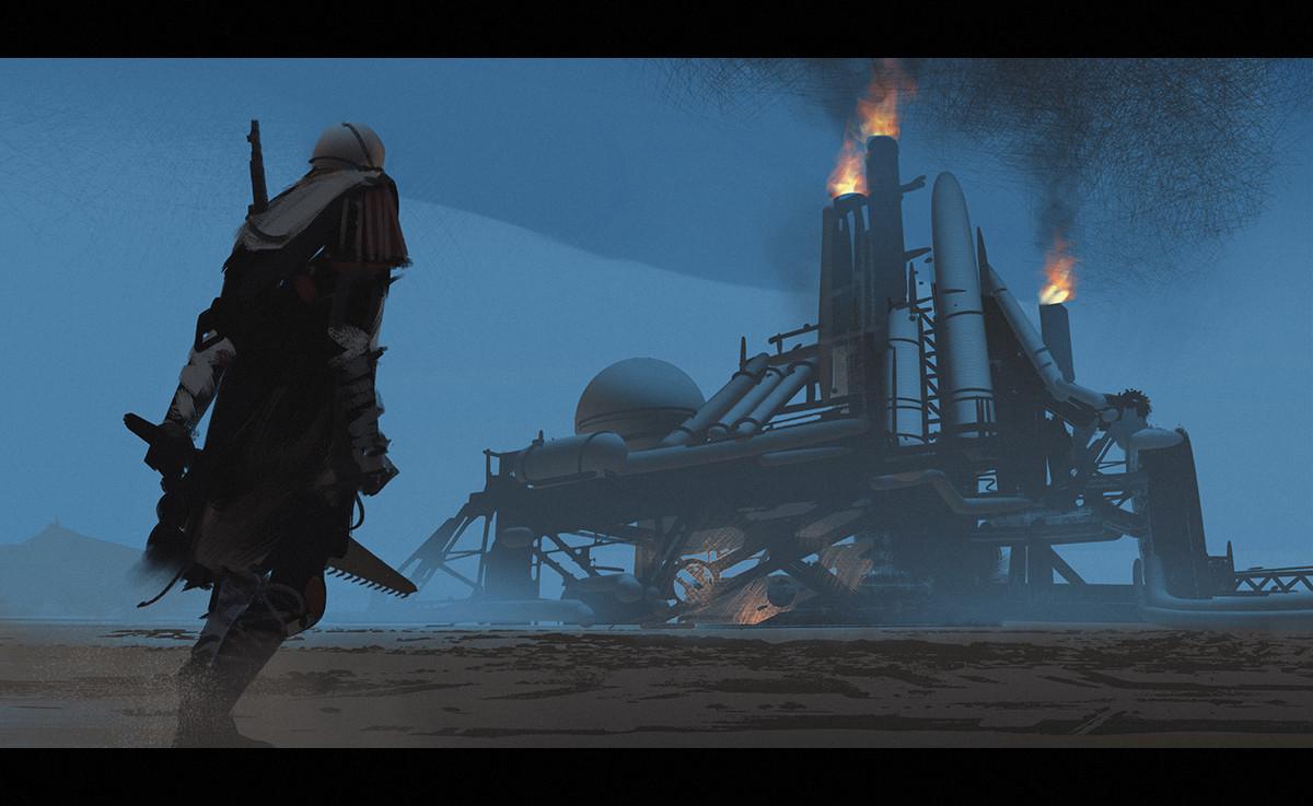 Lorenz hideyoshi ruwwe desert refinery