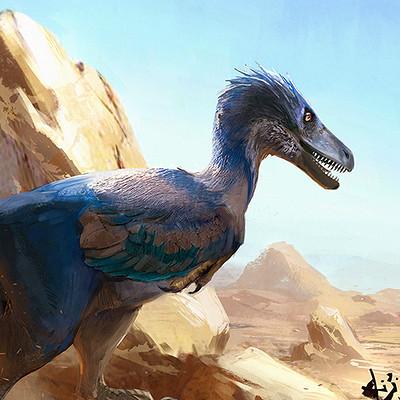 Jonathan kuo blue raptor low