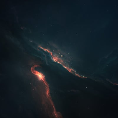 Starkiteckt designs chazm nebula blue