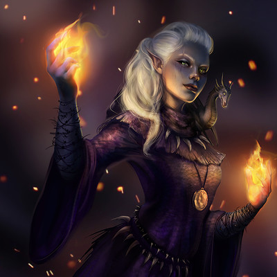 [Guilde de Barde] Faucongris Ros-morales-the-wizard-and-her-pet