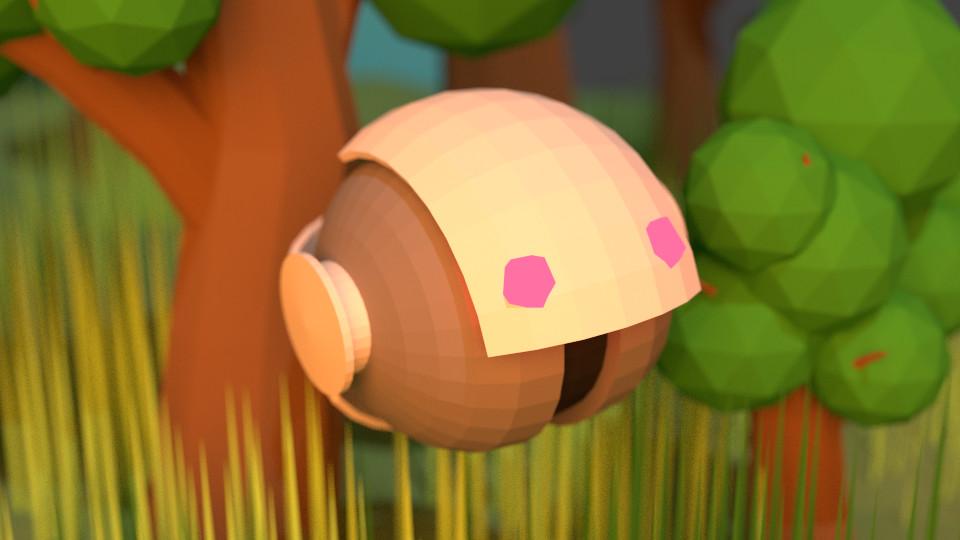 Johnathan reid shellbot closeup