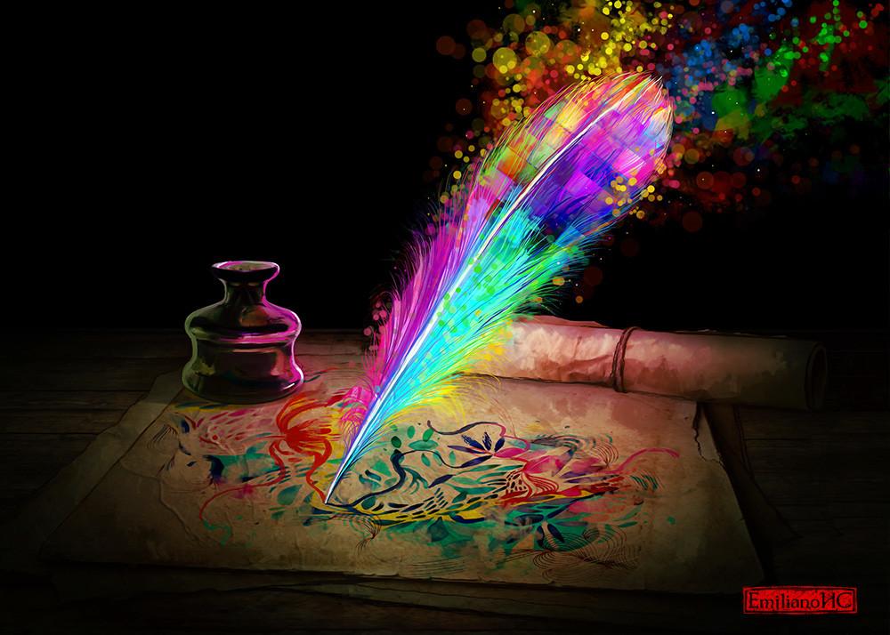 Emiliano cordoba rainbowplume