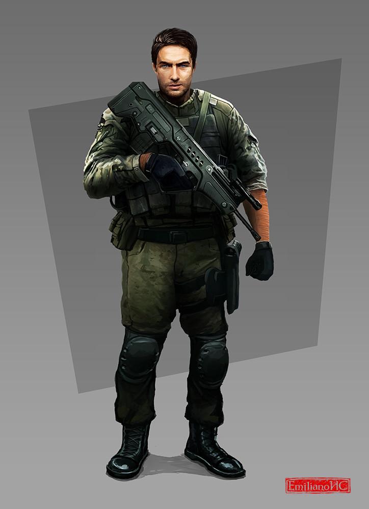 Emiliano cordoba soldier