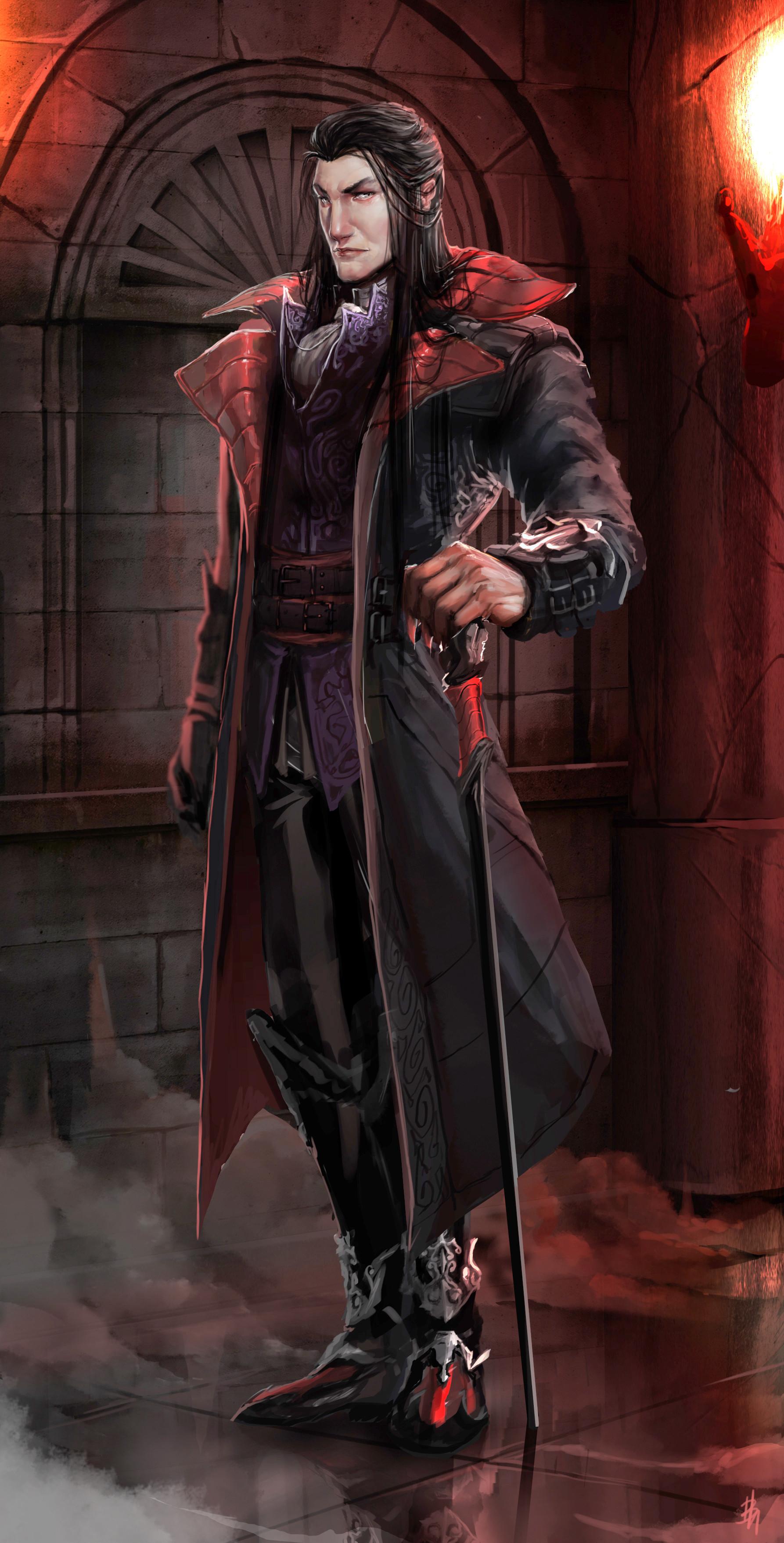 dracula character description