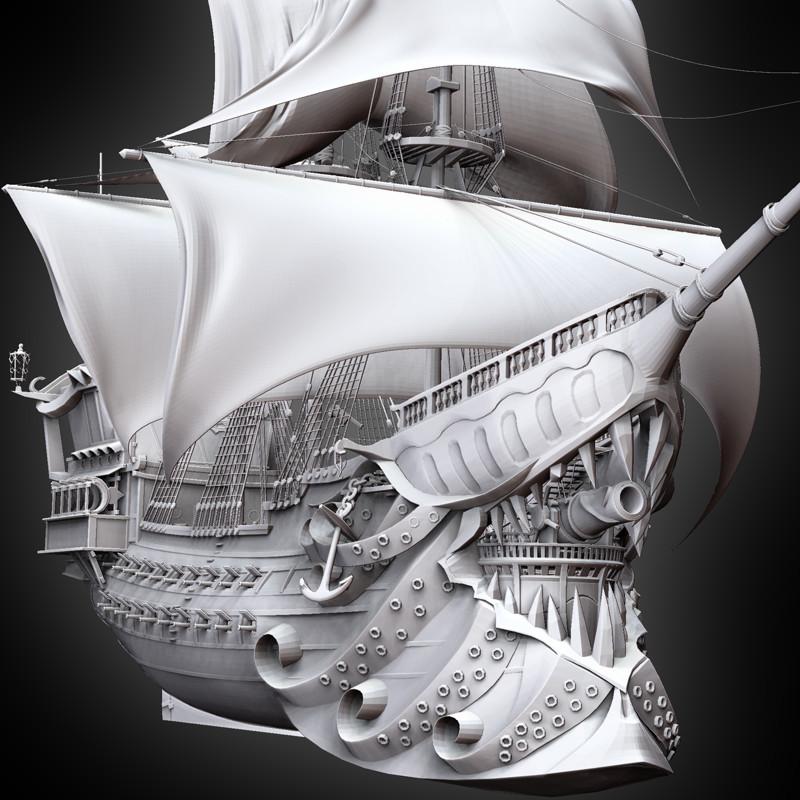 Captain Gangplank's Flag Ship - The Deadpool