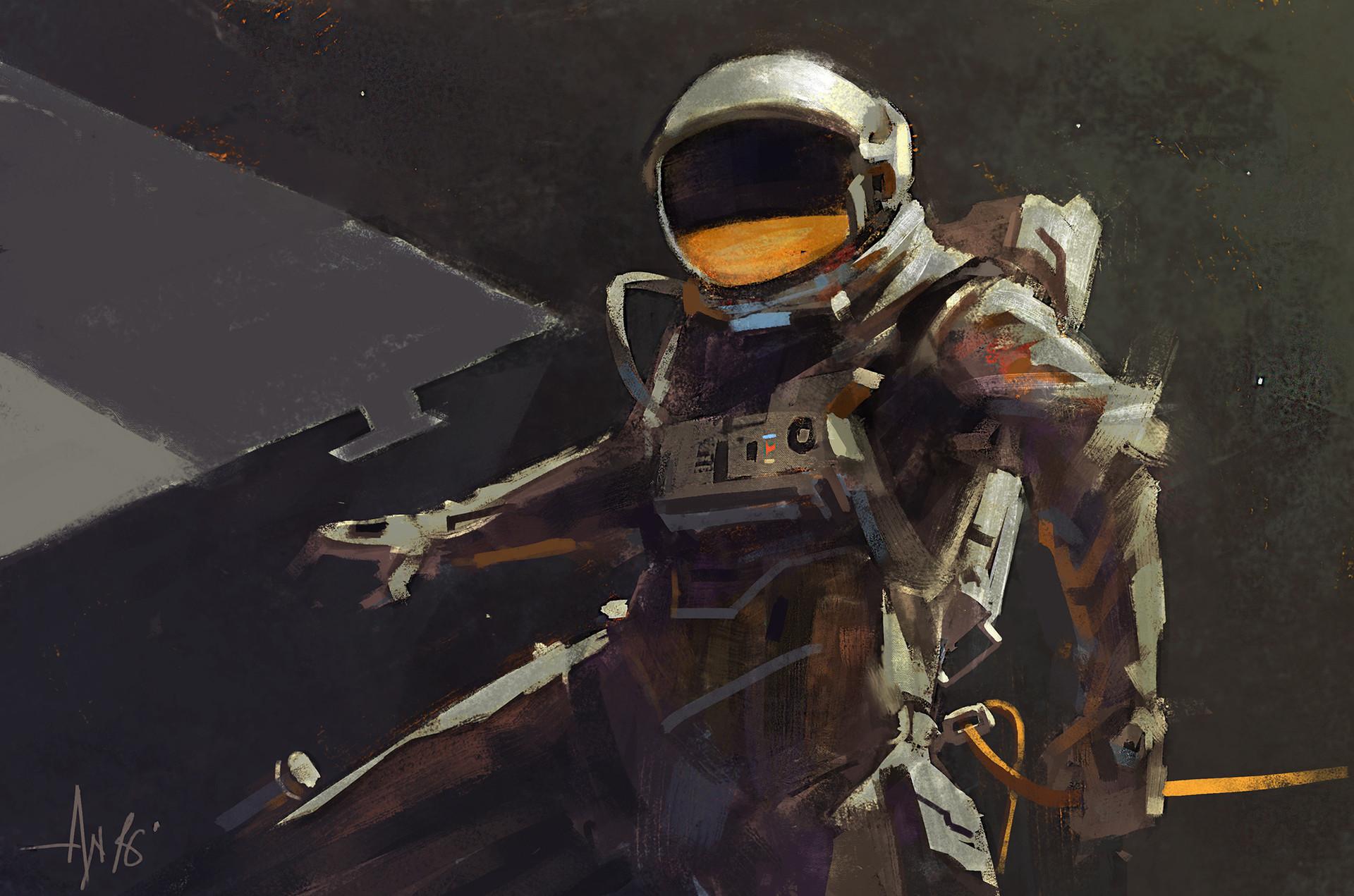 Ayan nag astronaut by ayan nag lr