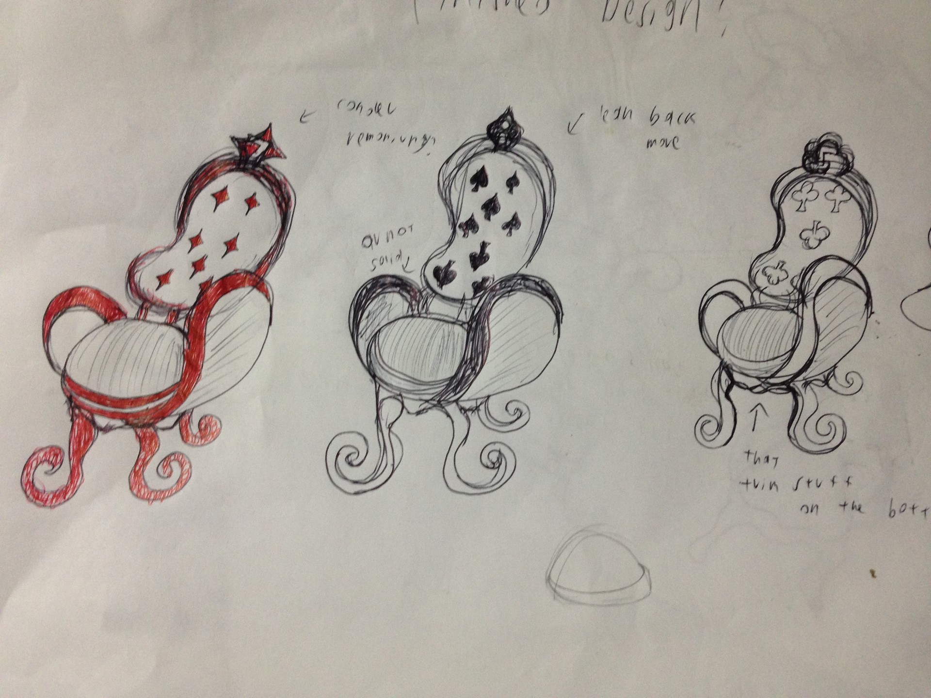 Jessica vira alice chairs sketches