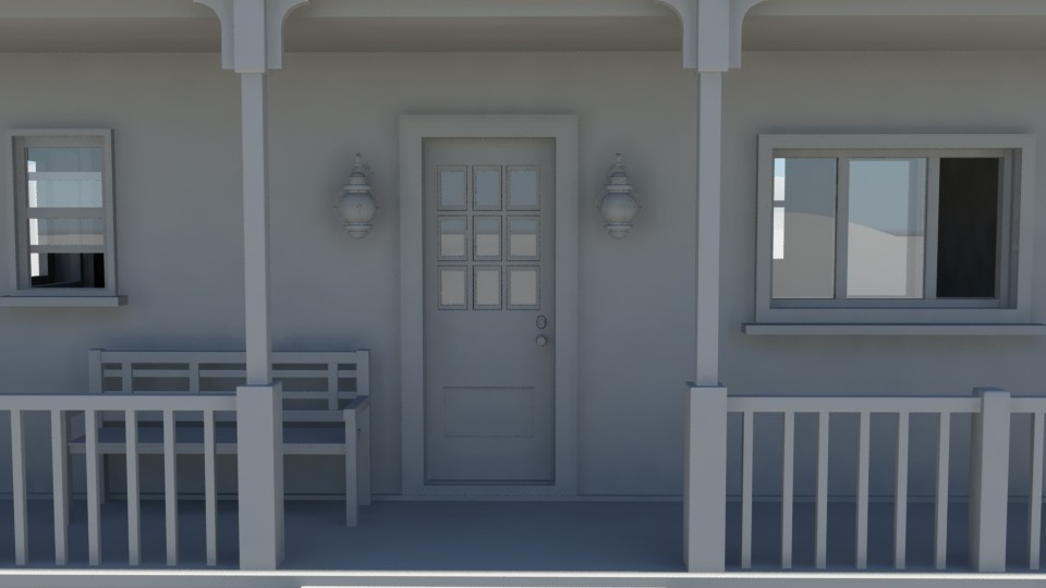 Jessica vira close up of house front