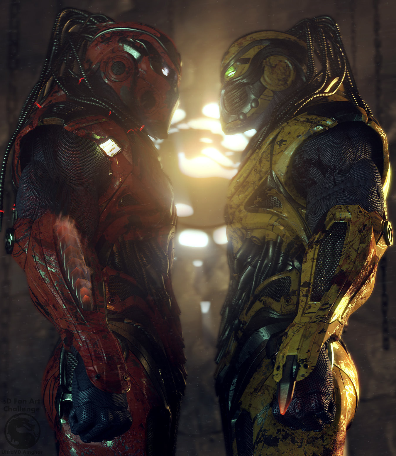 Image result for cyrax and sektor