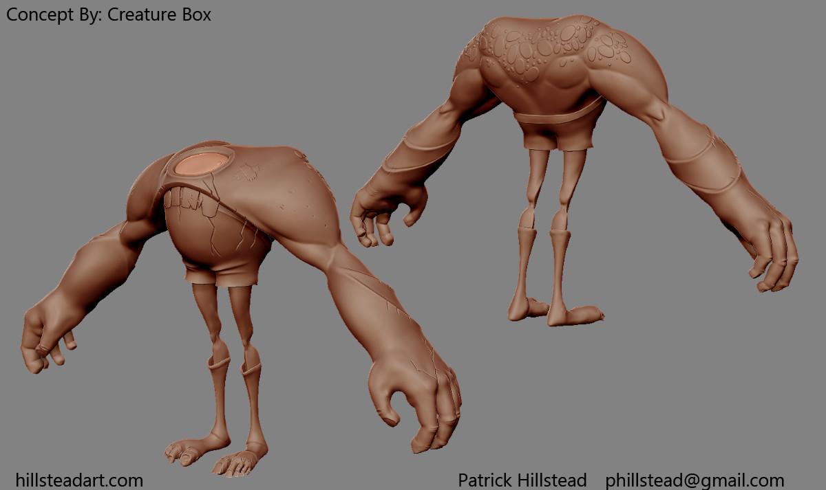 Patrick hillstead creaturebox boxer hipoly
