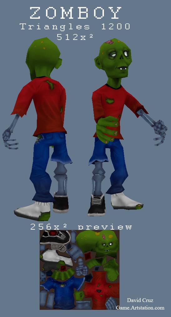 David cruz zomboy profile
