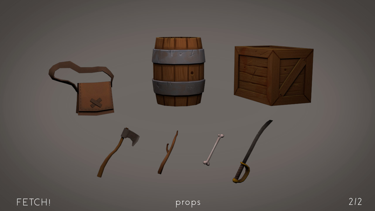 Clementine frere fetch props02