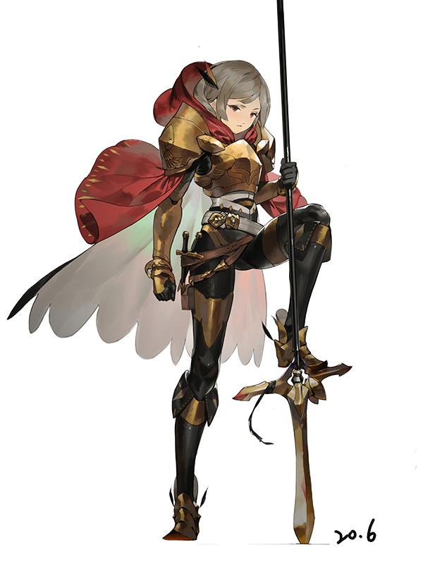 Character Design Art Station : Artstation character design geoffrey chan