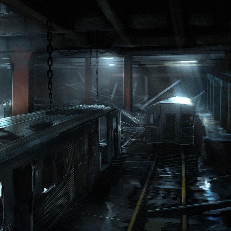 Underworld Awakening Concept, Martin Bergquist