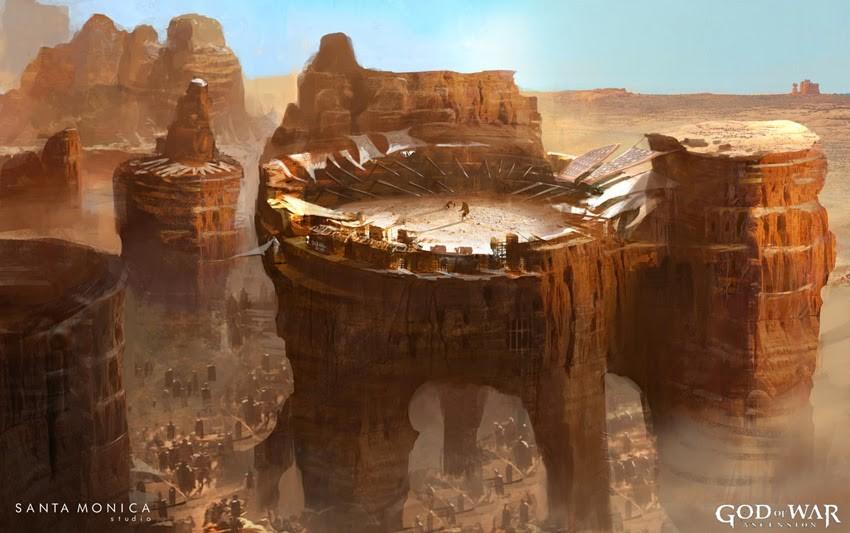 Concept Art Ocean Canyon