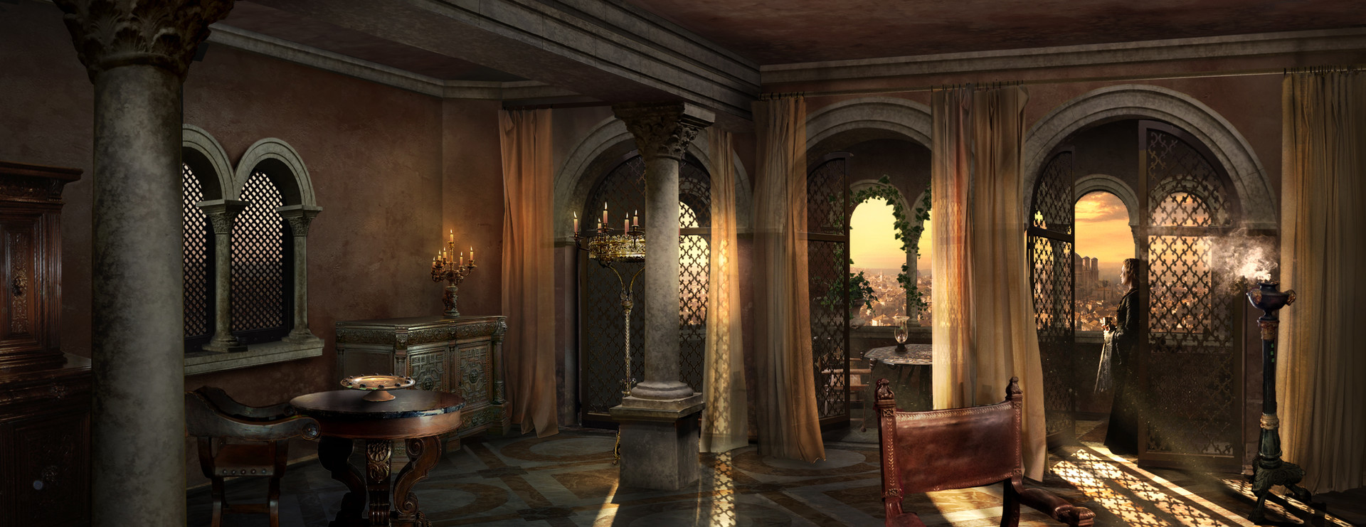 Cersei's Chamber interior
