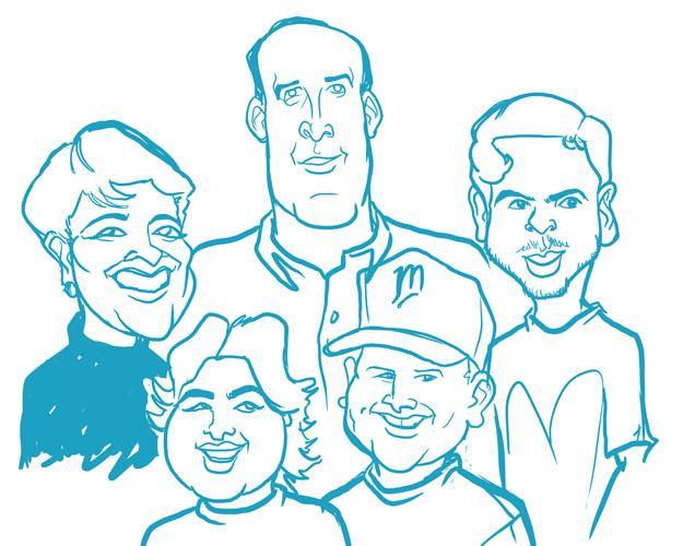 Steve rampton rj family sketch