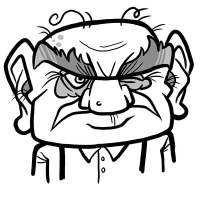 Steve rampton mr grumpy