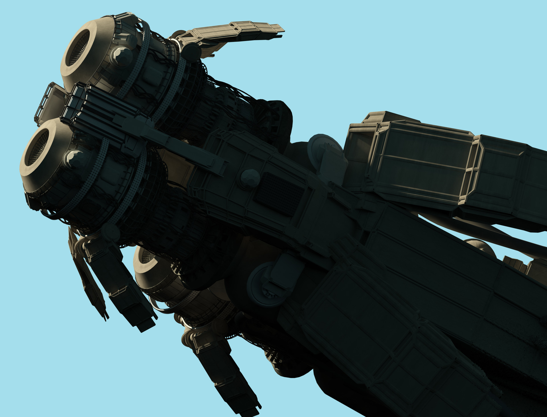 Col price hidden ship render
