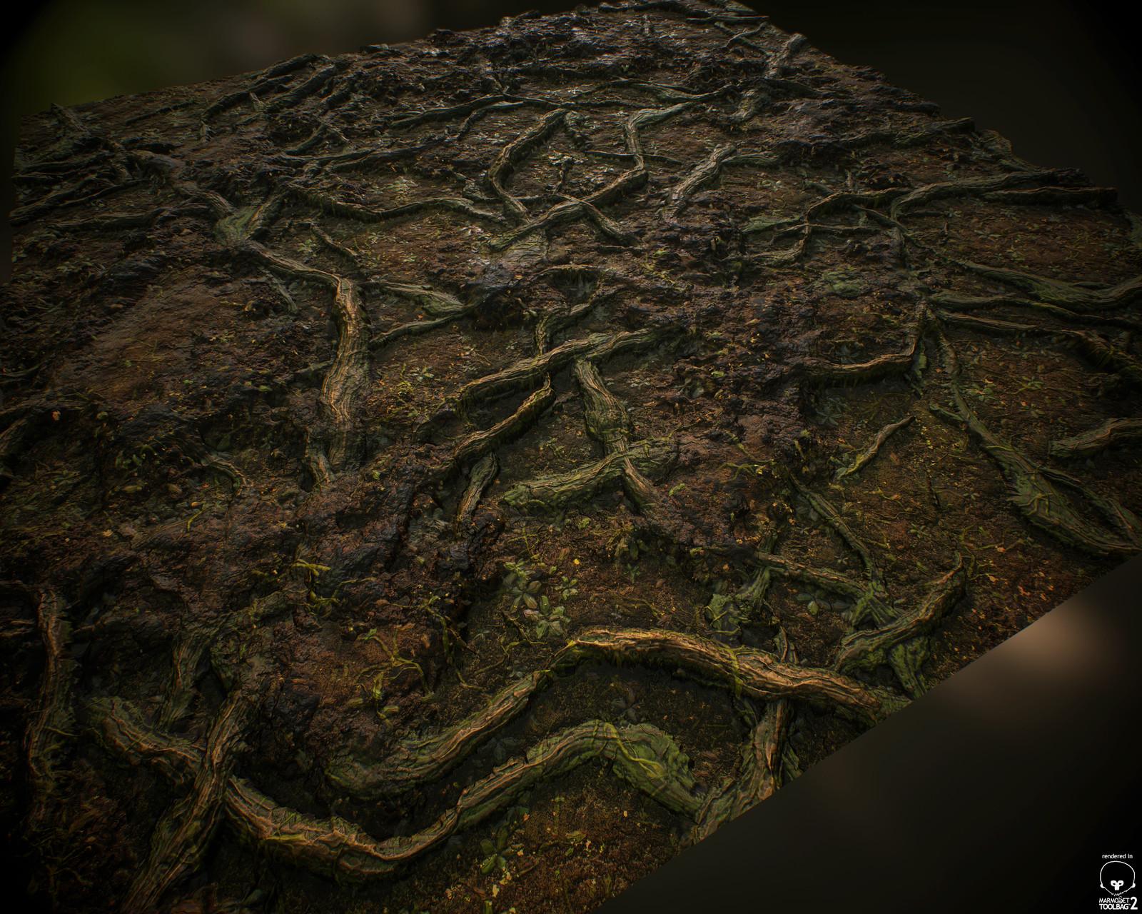 Roots - 100% Substance Designer