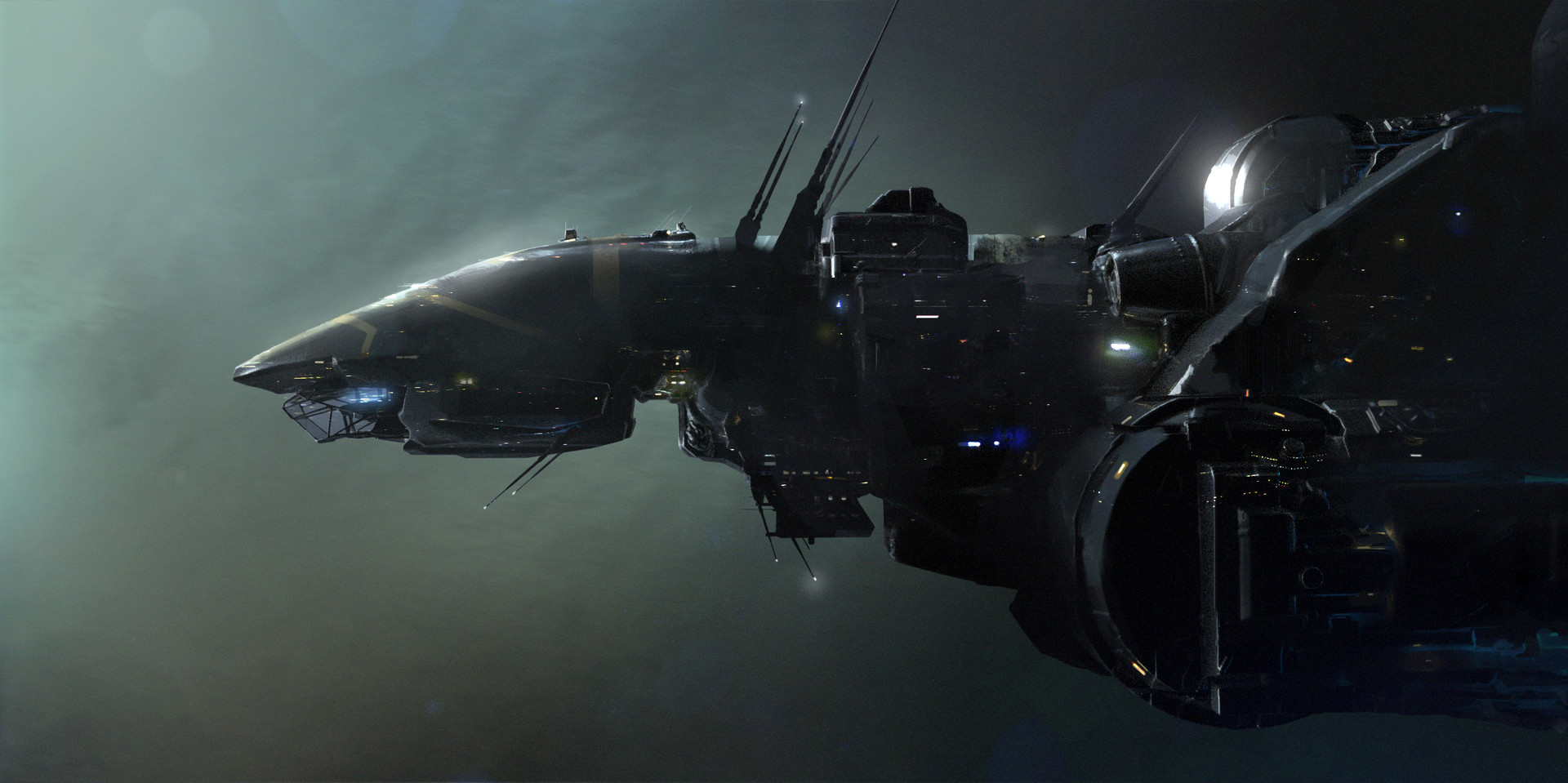 Nikolay karelin prometheus ship 3