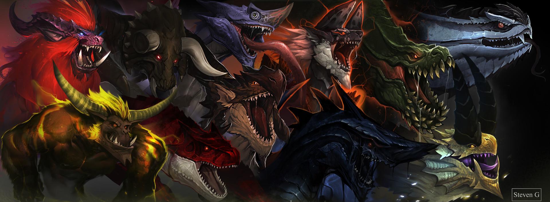 aqw monster hunter