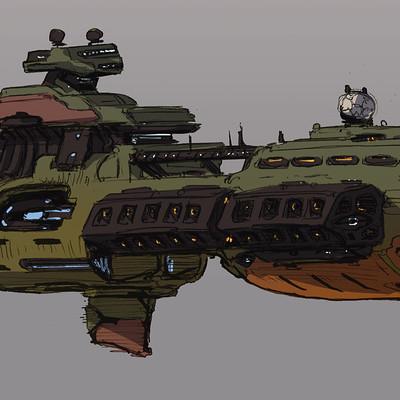 Brad wright spaceship sketches2