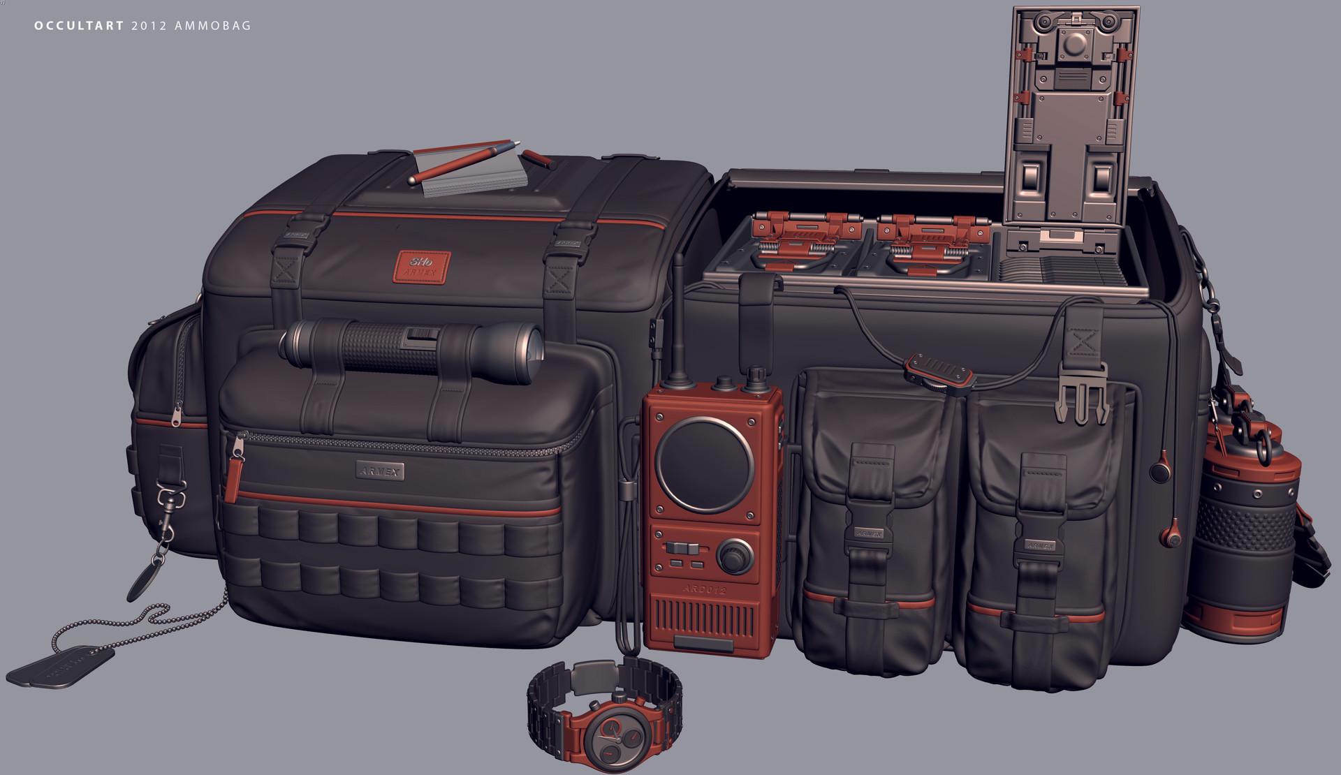 Occultart   ammobag 9