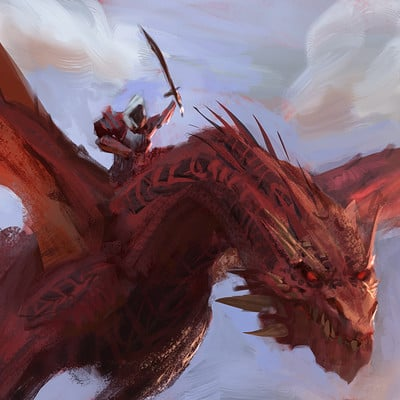 Sebastian horoszko 8 red dragon