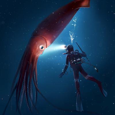 Alex ries life squid