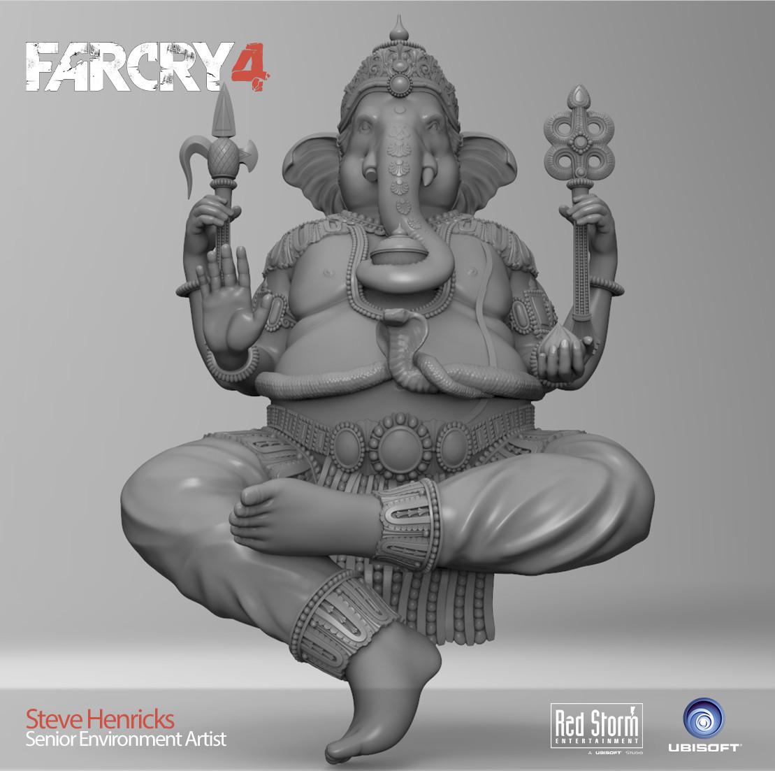 Ganesha Statue Sculpt