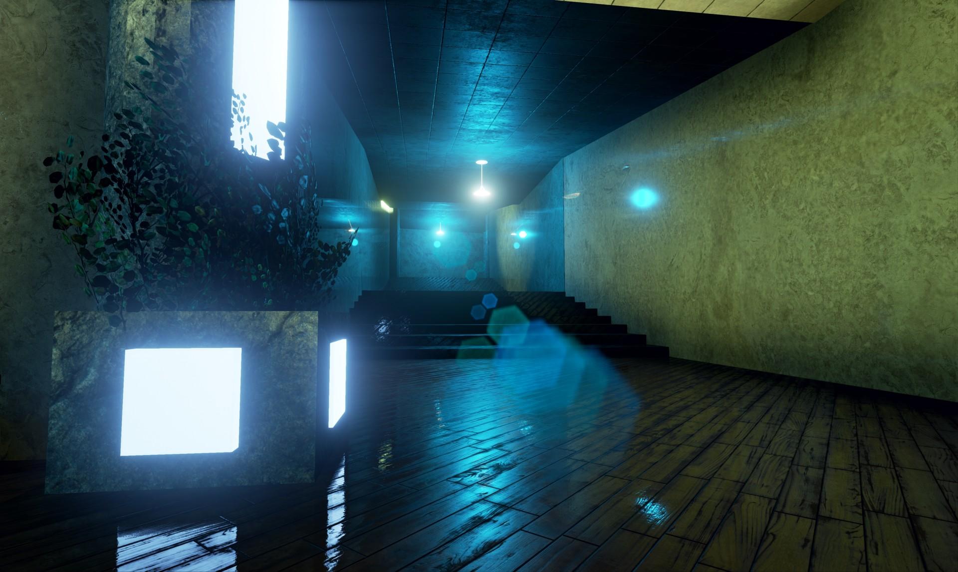 Shot #6 - Corridor(Floor 1 Stairs)