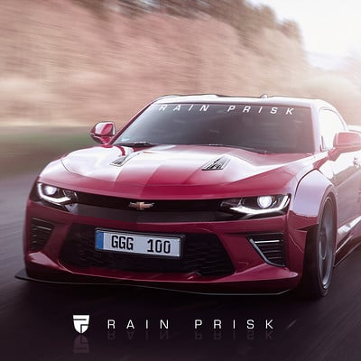 Rain prisk wide fat camaro