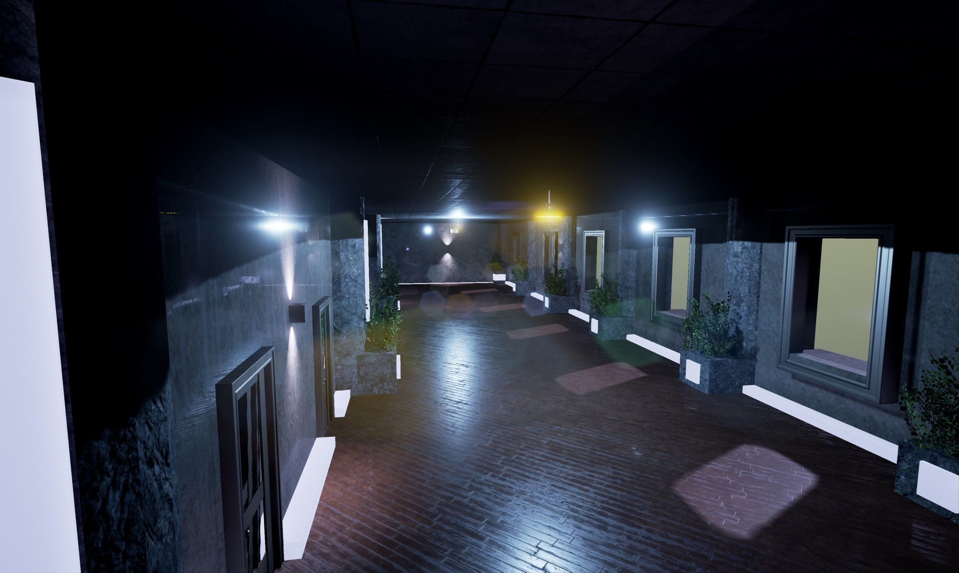 Shot #3 - Corridor(long)