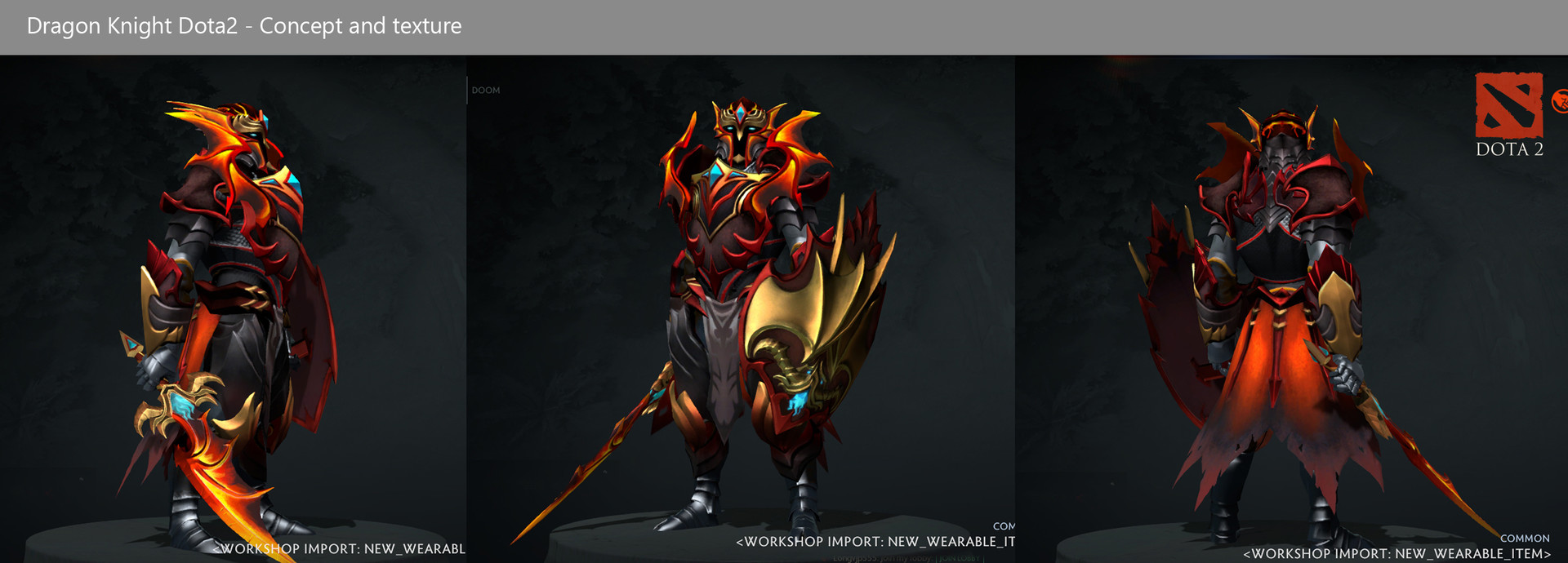 Artstation dragon knight set dota2 cuong le manh scroll to see more voltagebd Gallery