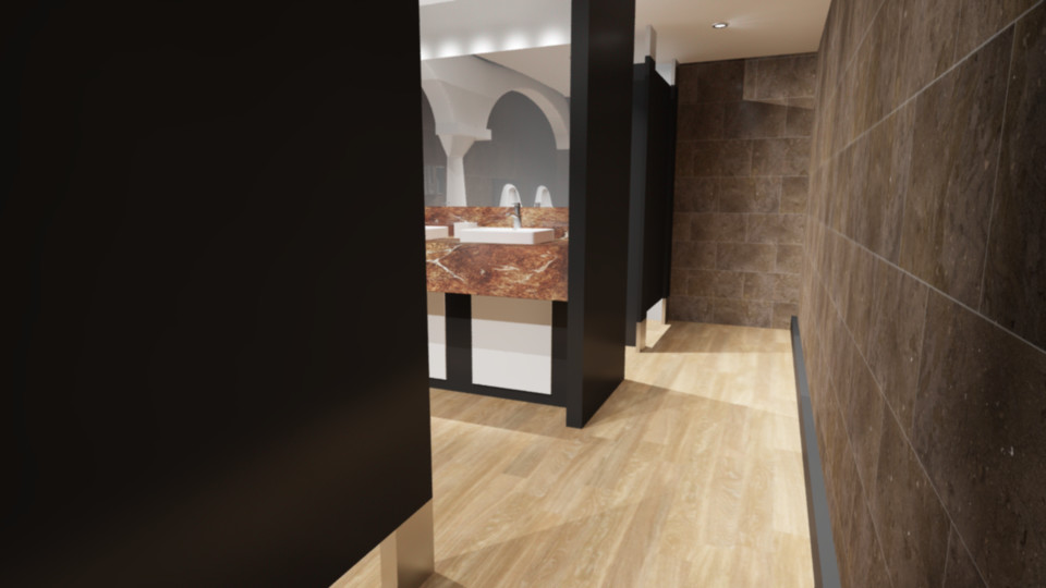 Shamsuddeen alkali toilet entrance