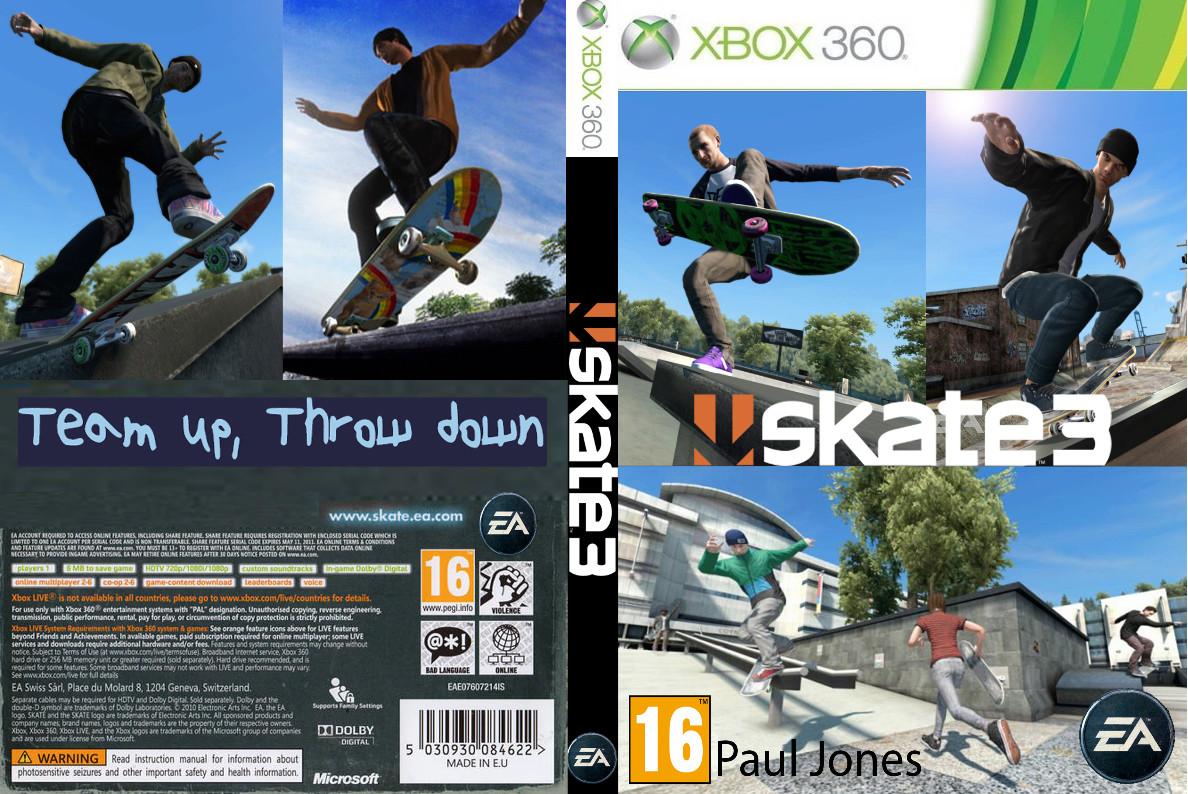 artstation skate 3 box art design paul jones rh artstation com EA Skate Create a Graphic EA Skate 3 Cheats