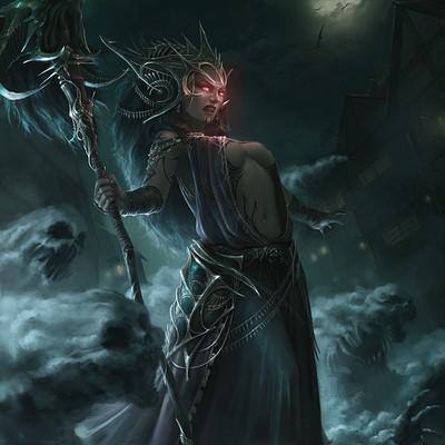 Chin likhui sorceress flatten