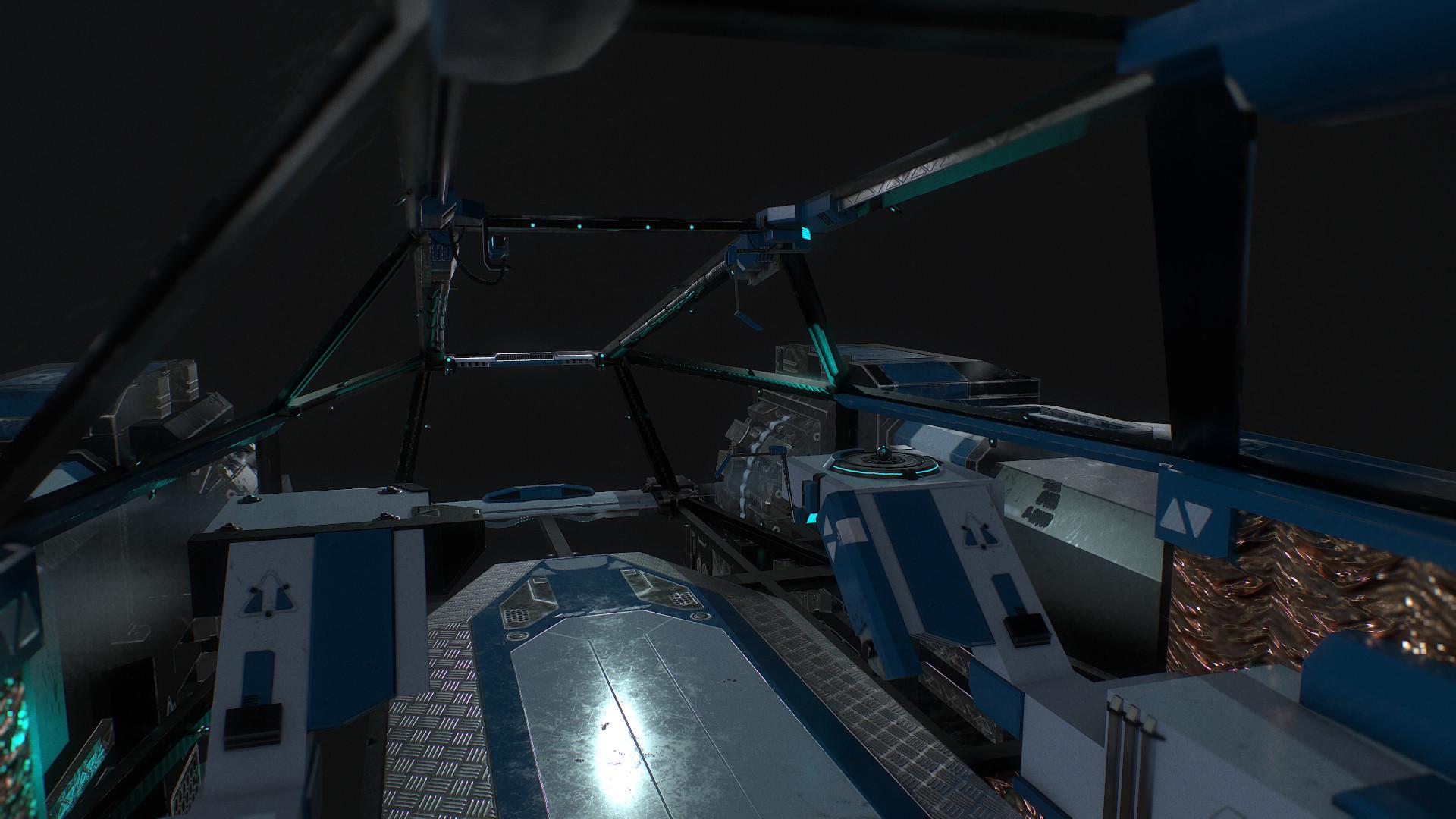 Julien Quilghini - Scout Class Spaceship 3D Cockpit