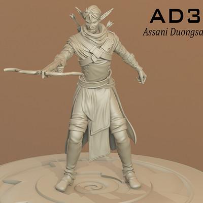 Assani duongsaa elven hunter 003