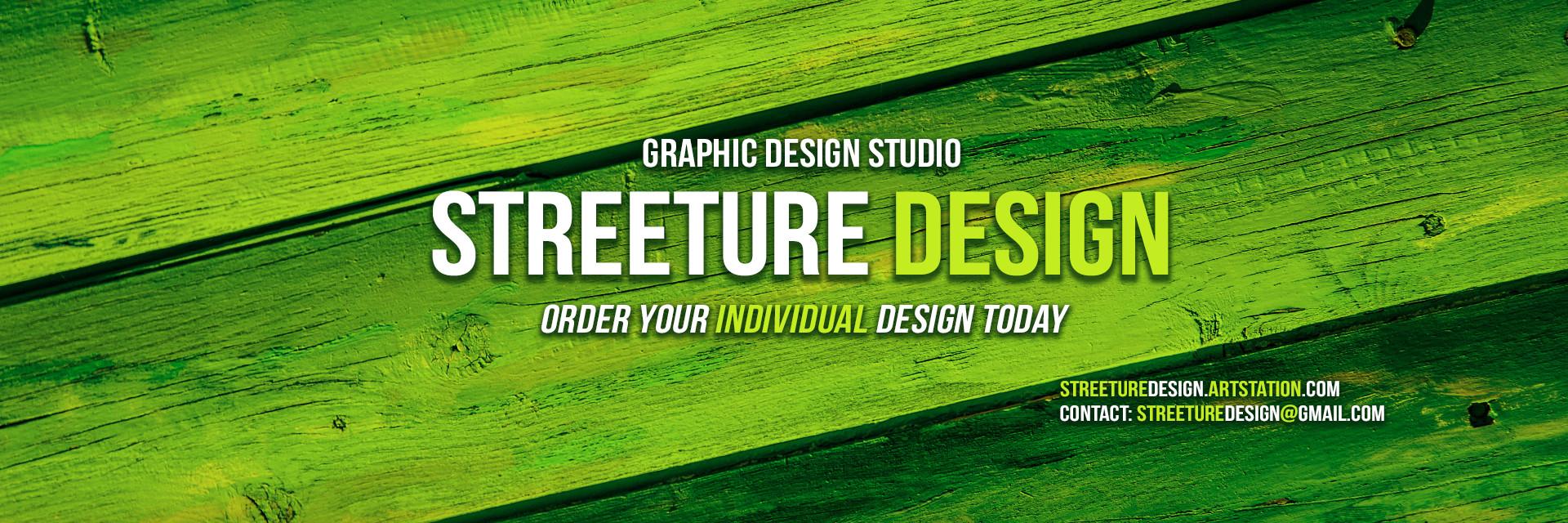 Streeture design artstation banner