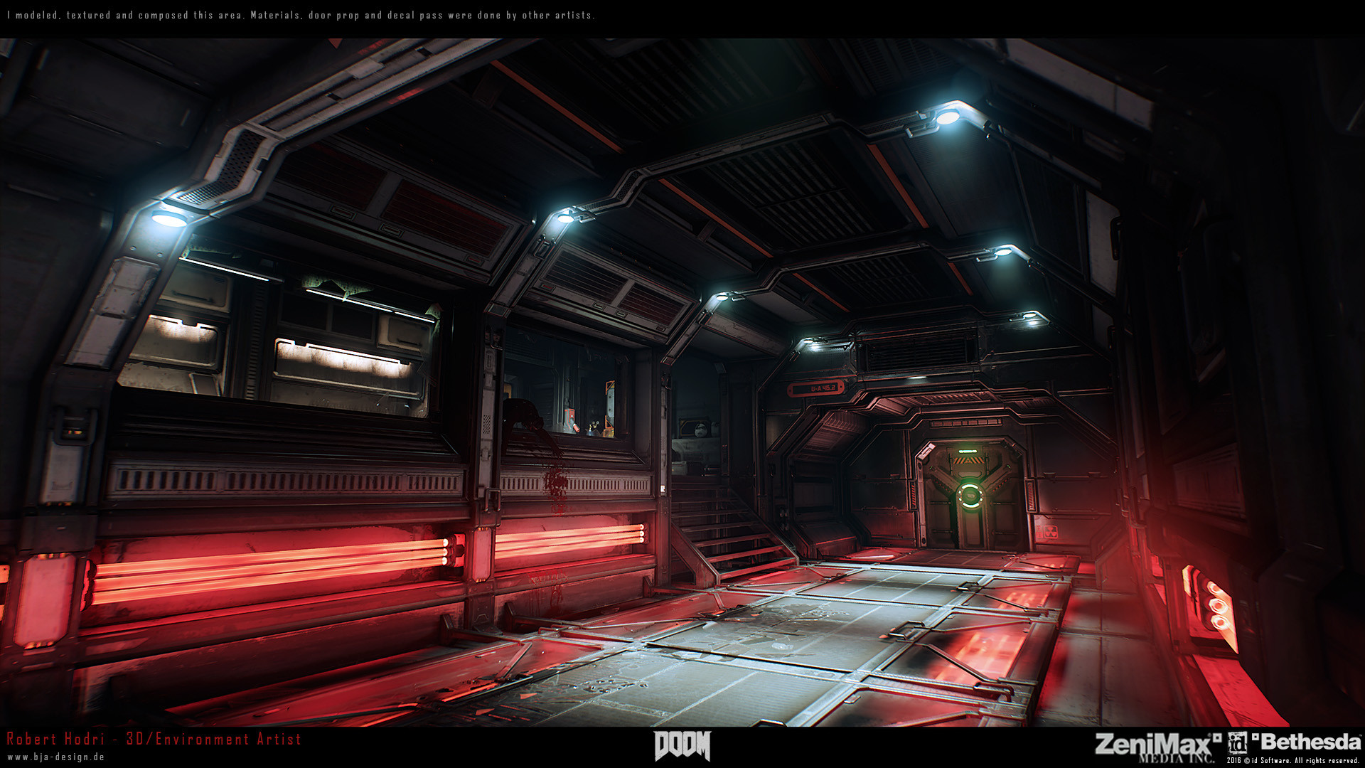 Doom 3 Interior Concept Art